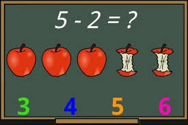 Image result for subtraction for kids