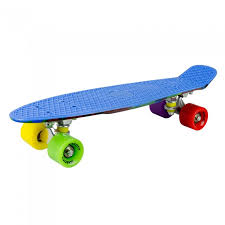 <b>MaxCity Скейтборд MC Plastic</b> Board Smash small - Акушерство.Ru