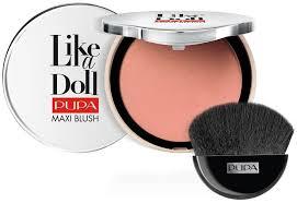 Pupa <b>Like A</b> Doll Maxi Blush - <b>Румяна компактные</b> стойкие для ...