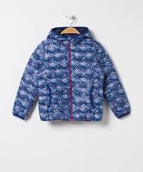 <b>Girls</b> - 90/10 <b>Floral Hooded</b> Light <b>Down</b> Jacket