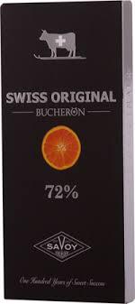 <b>Шоколад SWISS ORIGINAL</b> с кусочками апельсина горький 72 ...