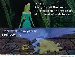 Disney Princess Texts From Last Night – 20 Pics | WeKnowMemes via Relatably.com