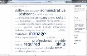 why tag clouds won t tell the right resume key words job search why tag clouds won t tell the right resume key words job search tips