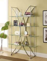 wall shelves uk x: storage amp organization contemporary floating glass shelves design with chromed frame floating glass shelves