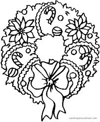 Resultado de imagen para coronas de navidad para colorear y recortar