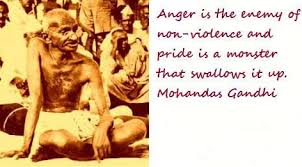 gandhi jayanti anger is the enemy of non violence  gandhi jayanti anger is the enemy of non violence