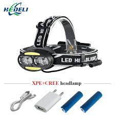 led <b>headlamp IR</b> sensor rechargeable led <b>headlight</b> 4 cree xml t6 2 ...