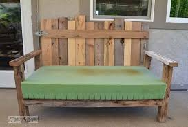 patio furniture from pallets. pallet wood patio chair build via funky junk interiors furniture from pallets