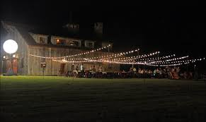 ritz sandy creek wedding event lighting barn wedding lights