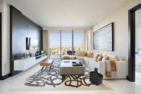 modern living room grey