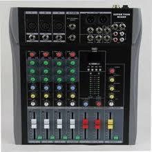 Дешевые CT-40-usb 4 канальный <b>микшерный пульт DJ</b> микшер ...