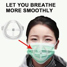 5/<b>10PCS 3D Mouth Mask</b> Support Disposable Mask Inner Bracket ...