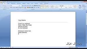 microsoft word 2007 cover letter templates category ms word cover letter template