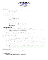 sample resume for summer job college student sample how to make a gallery of job resume sample for college students