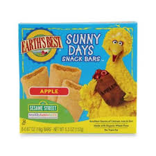 Earth's Best® 8-Pack <b>Organic Sunny Days</b> Apple <b>Snack</b> Bars® | Bed ...