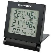 ≡ <b>Метеостанция Bresser MyTime Travel</b> Alarm Clock – купить по ...