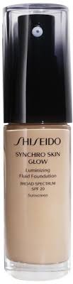 <b>Shiseido Synchro Skin</b> Glow Luminizing Foundation Rose 3 30ml in ...