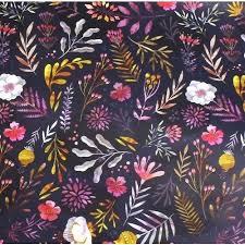 """Упаковочная бумага """"Dark Flowers"""" бренда Подписные издания ..."""