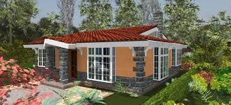 Concise  Bedroom House Plan   adroit architecture    house plans by Kenya architect  bedroom house plans in Kenya