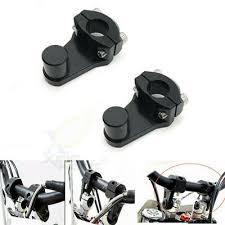 """Black <b>Aluminum</b> 7/8"""" <b>22mm</b> Handle Fat <b>Bar Motorcycle HandleBar</b> ..."""
