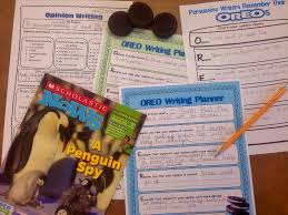 graphic organizers for opinion writing scholastic