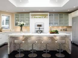 calacatta marble kitchen waterfall: white kitchen cabinets nkba   medium kitchen david duncan livingston a xjpgrendhgtvcom