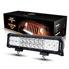 """Auxbeam 12"""" 72W LED Light Bar 7200lm Combo Beams <b>24pcs</b> 3W ..."""