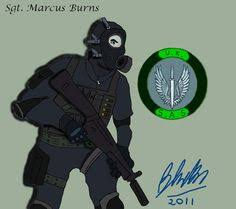 Sgt. Marcus Burns: Alive   Call of duty, Modern warfare, Military videos