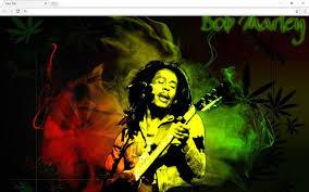 <b>Bob Marley</b> Background New Tab