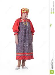 w in russian traditional clothing stock photos image  w in russian traditional clothing