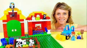 Видео для детей. Собираем <b>конструктор LEGO</b> Ферма. Video for ...