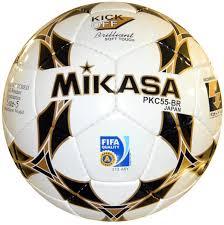 <b>Мяч футбольный Mikasa</b> PKC55-BR, белый, черный, золотой ...