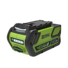 Li-Ion <b>аккумулятор Greenworks G-MAX</b> 40V 6Ah G40B4 (2928907 ...