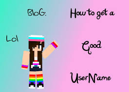 blog how to get a good user minecraft blog
