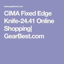 <b>CIMA Fixed Edge</b> Knife-24.41 Online Shopping| GearBest.com ...