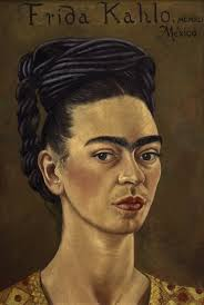 frida kahlo and diego rivera art gallery nsw frida kahlo self portrait red and gold dress 1941