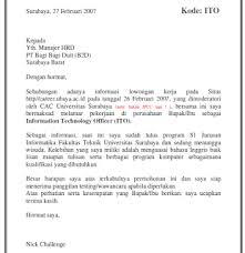 contoh cover letter contoh cover letter