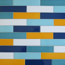 multi coloured kitchen tiles