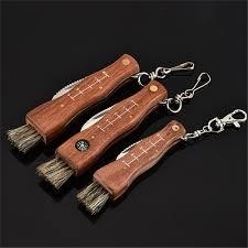 Padauk <b>Mushroom Knife</b> Wood Folding Blade Camp Tool Gift Tool ...