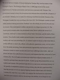 digication e portfolio  benjamin weber teaching portfolio  below please find an example of a student essay on the vietnam war