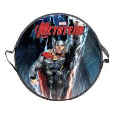<b>Ледянка 1Toy Marvel Thor</b> (Т58171-1), 52 см круглая с плотными ...