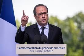 Hollande'dan 24 Nisan açıklaması