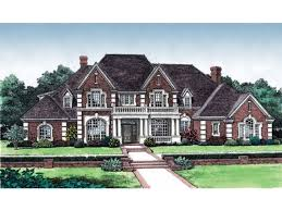 New American House Plan   Square Feet and Bedrooms from    Front