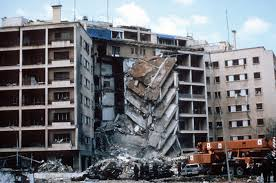 terrorism simple english the encyclopedia the us embassy in beirut after a terror attack