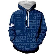 2019 <b>LBG New</b> Seattle Seahawk <b>3D Print</b> Sweatshirt Men And ...