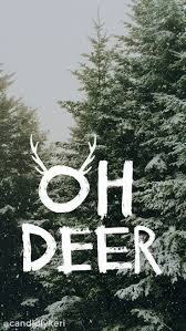 screen background image handy living: oh deer snowy trees christmas tree cute background wallpaper you can download for free on the