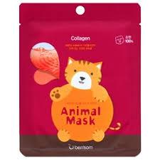 «Berrisom <b>Тканевая маска</b> с <b>морским</b> коллагеном Animal Mask ...