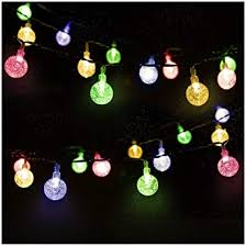 Mr.Twinklelight <b>Solar</b> String <b>Lights 30 LED</b> 4.5M Waterproof Festival ...