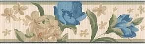 <b>Бордюр настенный</b> Kerama Marazzi Агатти Цветы <b>25х7</b>,<b>7</b>