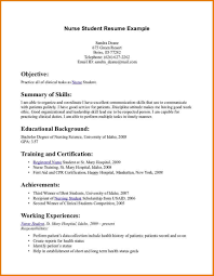 cover letter resume objective nursing resume objective nursing 11 good rn resume samples 7 nursing student resume clinical nursing school experience resume including clinical